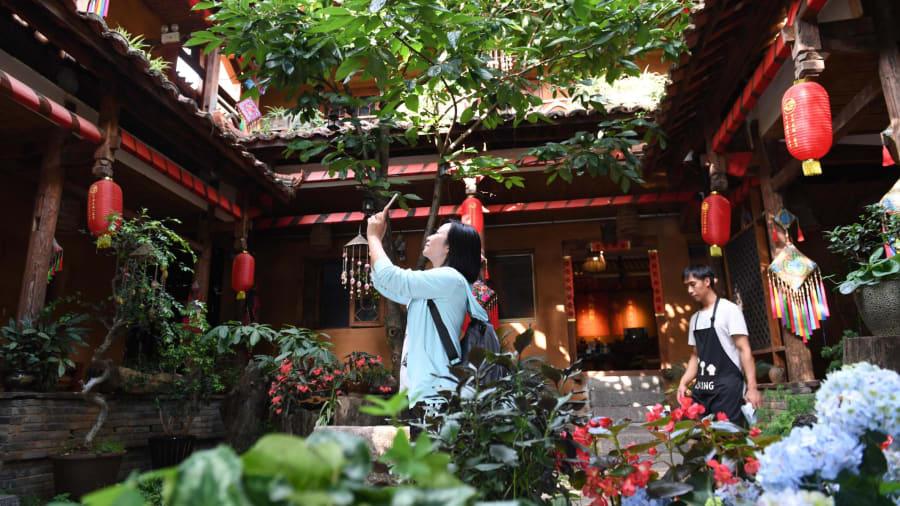 Người Trung Quốc có xu hướng tìm đến các vùng nông thôn để du lịch