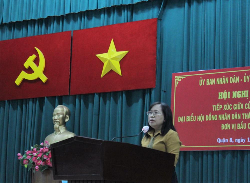 Giám đốc NXB Tổng hợp TPHCM Đinh Thị Thanh Thủy quan tâm đến việc phát triển bền vững hài hòa kinh tế - văn hóa