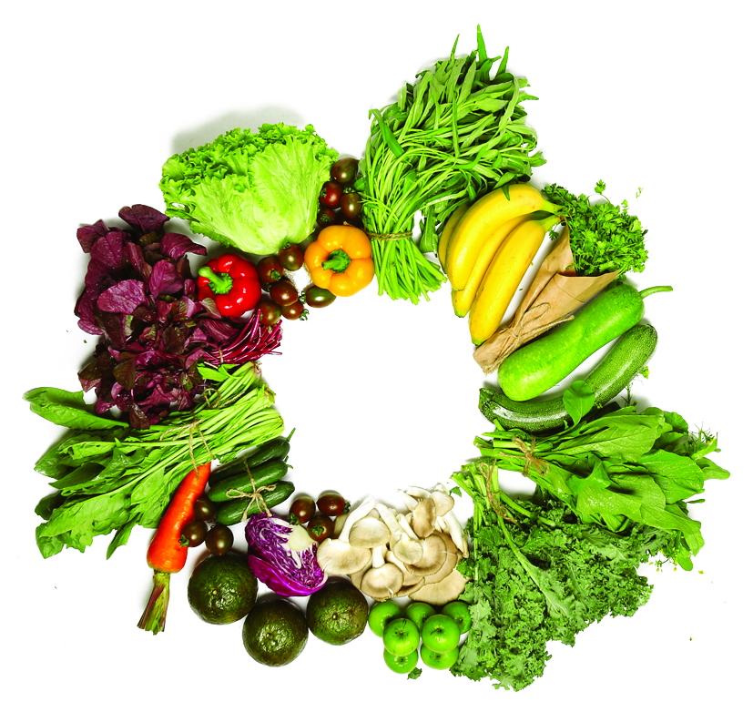 Rất nhiều loại rau xanh có tác dụng giúp nam giới khắc phục các vấn đề về chức năng sinh lý nam  Ảnh: Internet