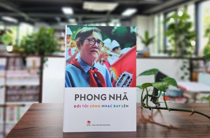 Hồi ký của nhạc sĩ Văn Nhã ra mắt dịp kỷ niệm 80 năm ngày thành lập Đội Thiếu niên Tiền phong Hồ Chí Minh.