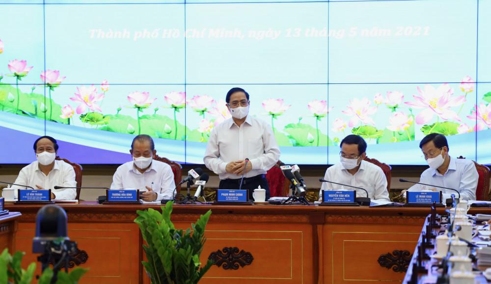 Thủ tướng Chính Phủ Phạm Minh Chính cho rằng, TPHCM cần