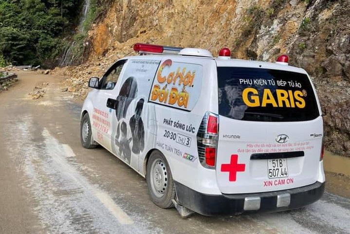 Chiếc xe cứu thương đi làm từ thiện của ông Đoàn Ngọc Hải