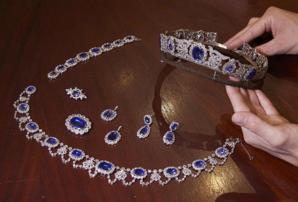 Các món trang sức của Stephanie de Beauharnais được đấu giá.