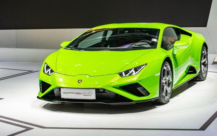 Hines đã chi 318.000 USD trong khoản vay PPP để mua một chiếc xe thể thao Lamborghini Huracan 2020 - Ảnh: VCG/Getty Images