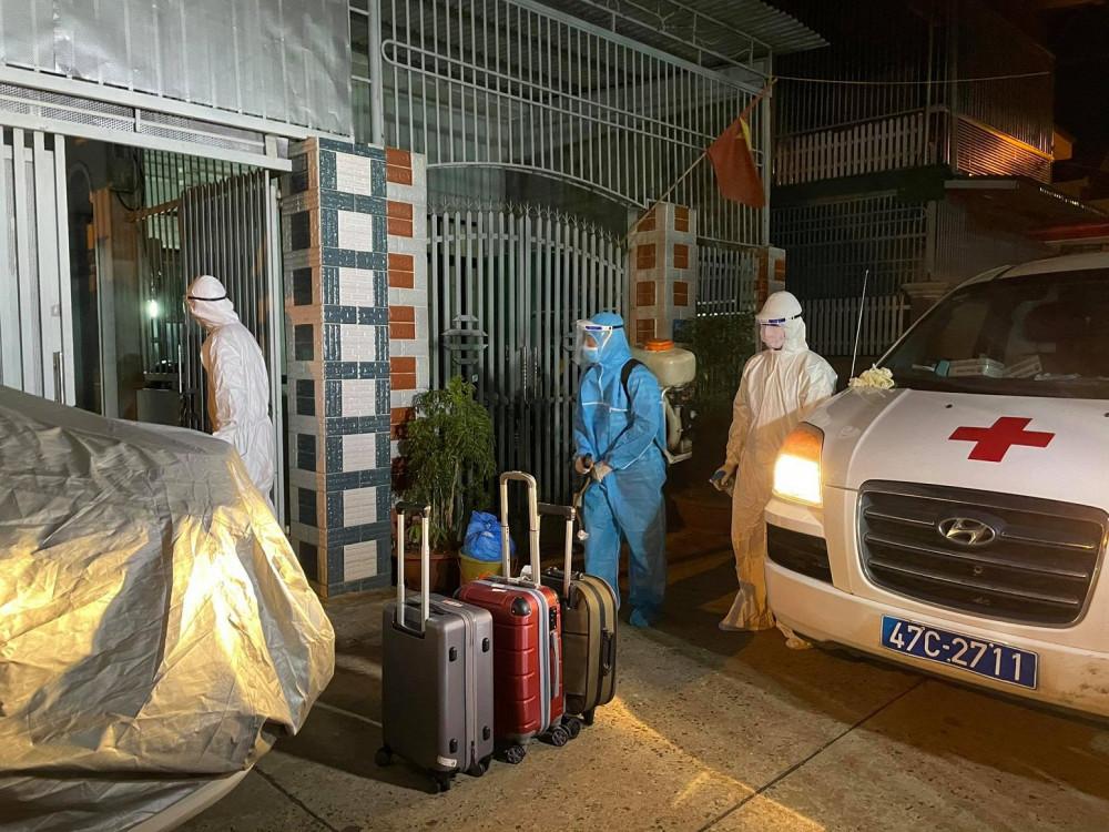 Tỉnh Đắk Lắk đã công bố lịch trình của trường hợp thứ 3 dương tính với SARS-CoV2