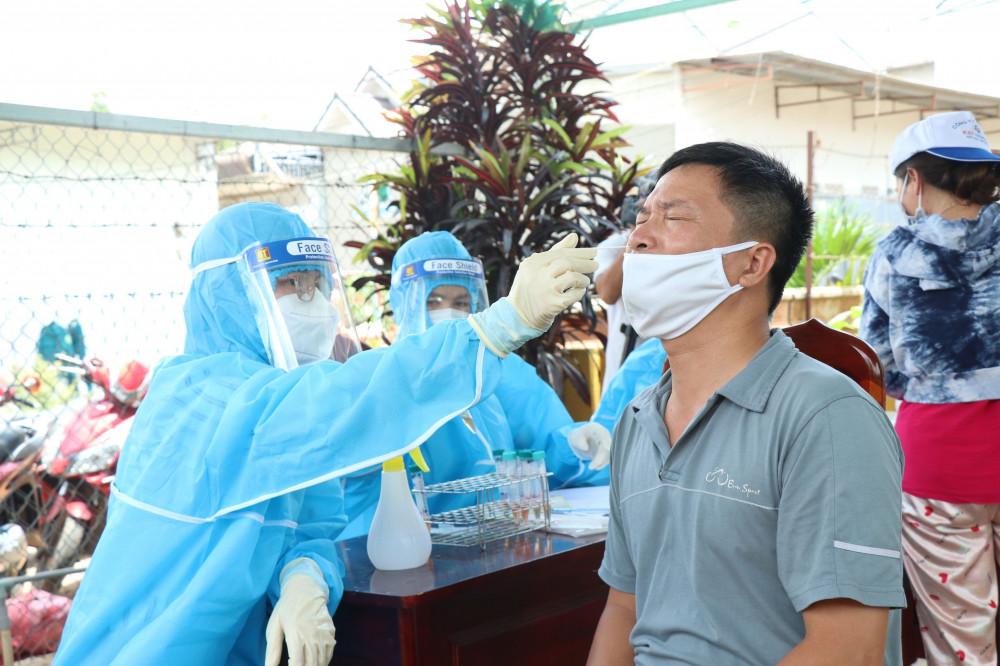 Tỉnh Đắk Lắk vừa ghi nhận thêm một trường hợp dương tính với SARS-CoV-2