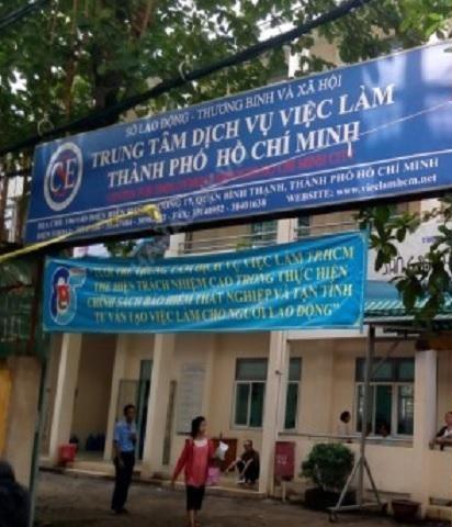 Trung tâm Dịch vụ việc làm TPHCM trực thuộc Sở Lao động - Thương binh và Xã hội TPHCM