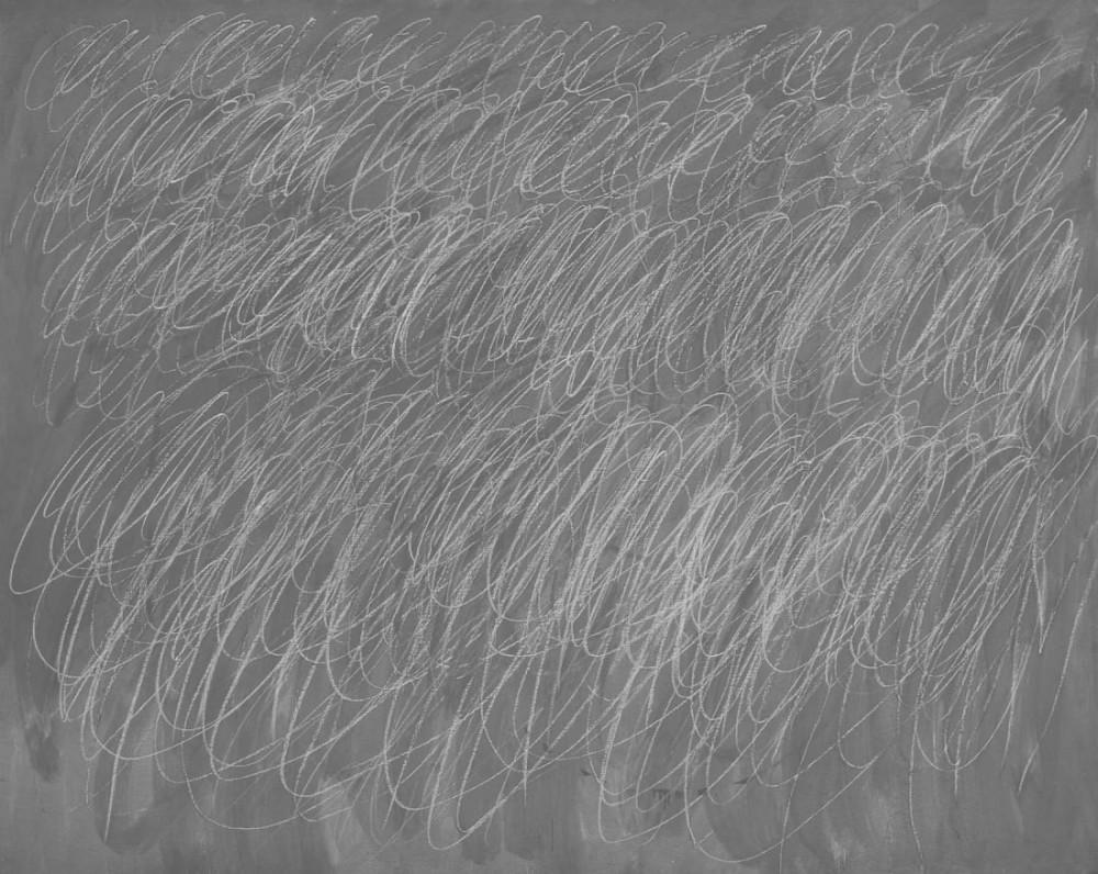 Bức vẽ ngệch ngoạc của Cy Twombly được mua với giá 41,6 triệu USD.