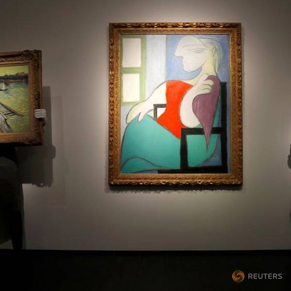 Bức tranh sơn dầu Marie-Theres được Picasso thu về 103,4 triệu USD.