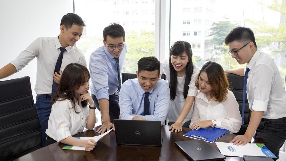 Vinamilk đầu tư phát triển đội ngũ quản lý trẻ. Ảnh: Vinamilk
