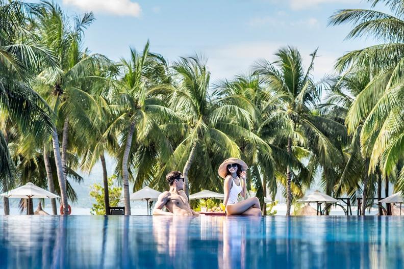 Vinpearl Luxury Nha Trang - Biệt thự biển sang trọng bên bờ biển thanh bình. Ảnh: Vingroup