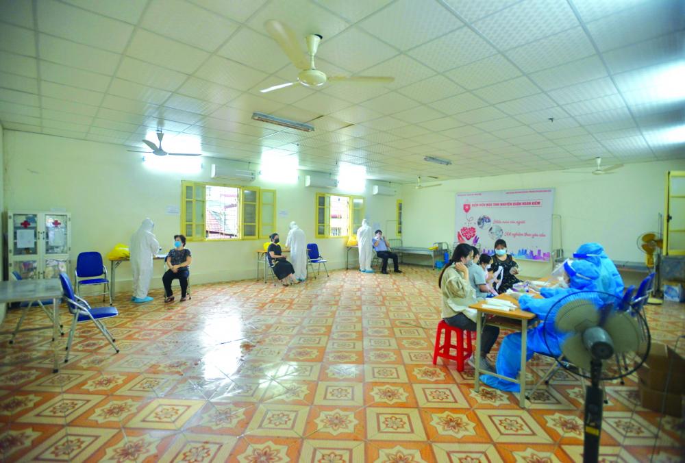 Thứ trưởng Bộ Y tế Đỗ Xuân Tuyên khẳng định, dù số ca mắc cao nhưng COVID-19 ở Việt Nam vẫn đang được kiểm soát