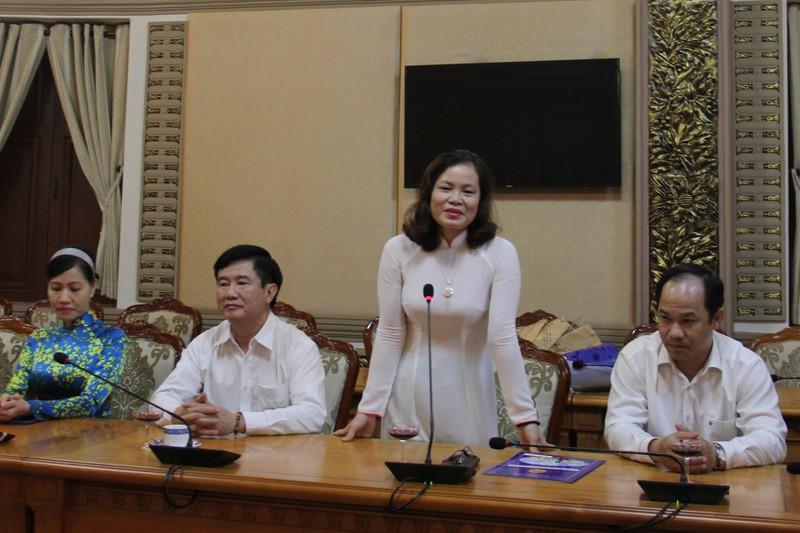 Bà Nguyễn Thị Hồng Hạnh - Phó Giám đốc Sở Tư Pháp TPHCM
