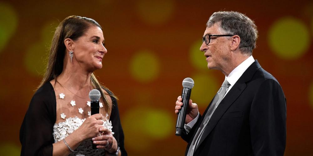 Melinda French Gates và Bill Gates - Ảnh: Getty Images
