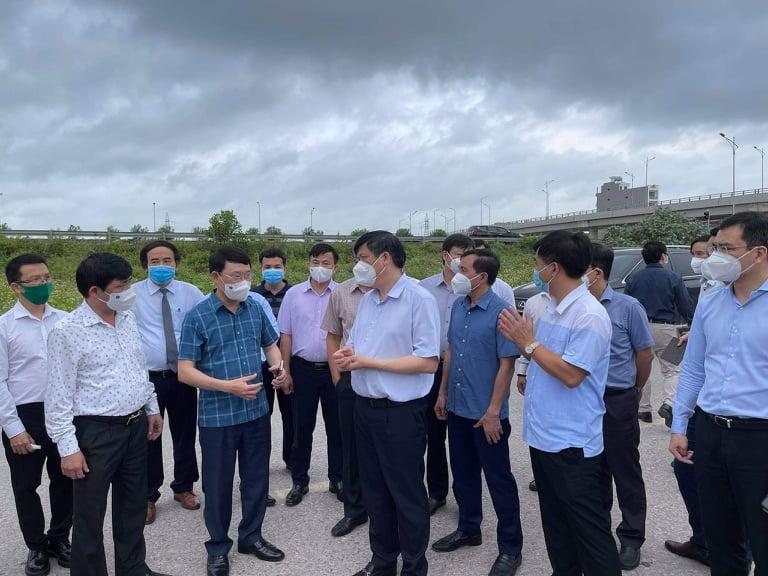 Bộ trưởng Bộ Y tế làm việc tại Bắc Giang sáng nay