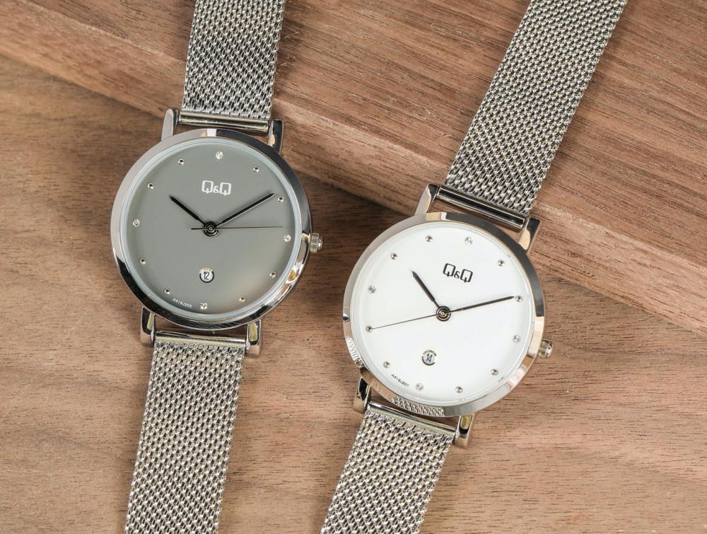 Thương hiệu Q&Q Nhật Bản với thiết kế trẻ trung, giá thành rẻ thuộc top những sản phẩm bán chạy nhất tại Siêu thị đồng hồ