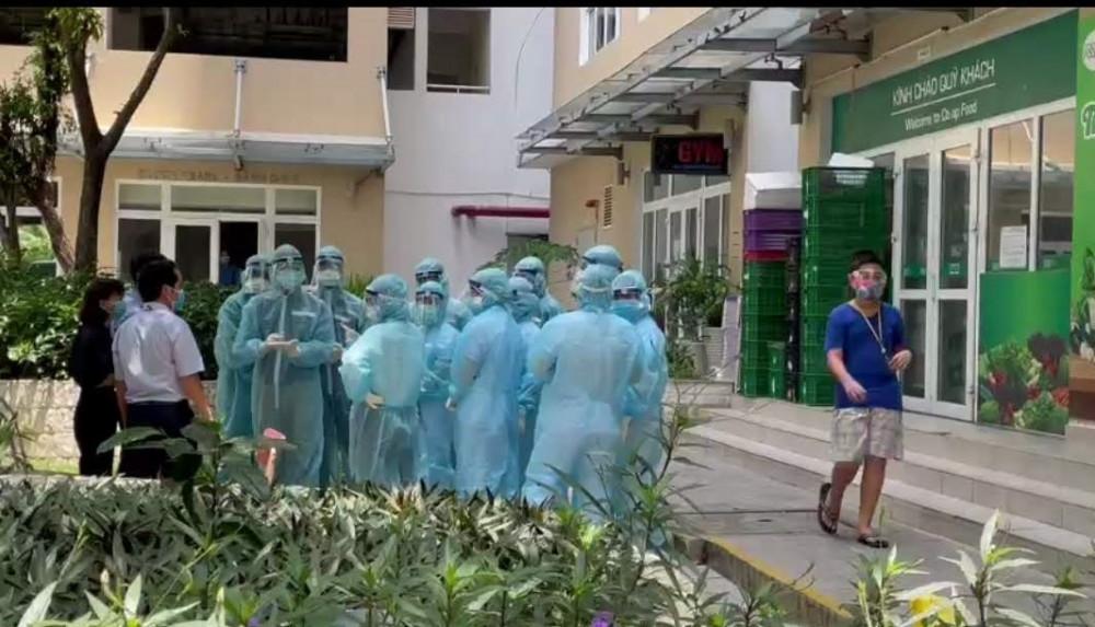 Chung cư Sunview town (Thủ Đức) đang bị phong tỏa