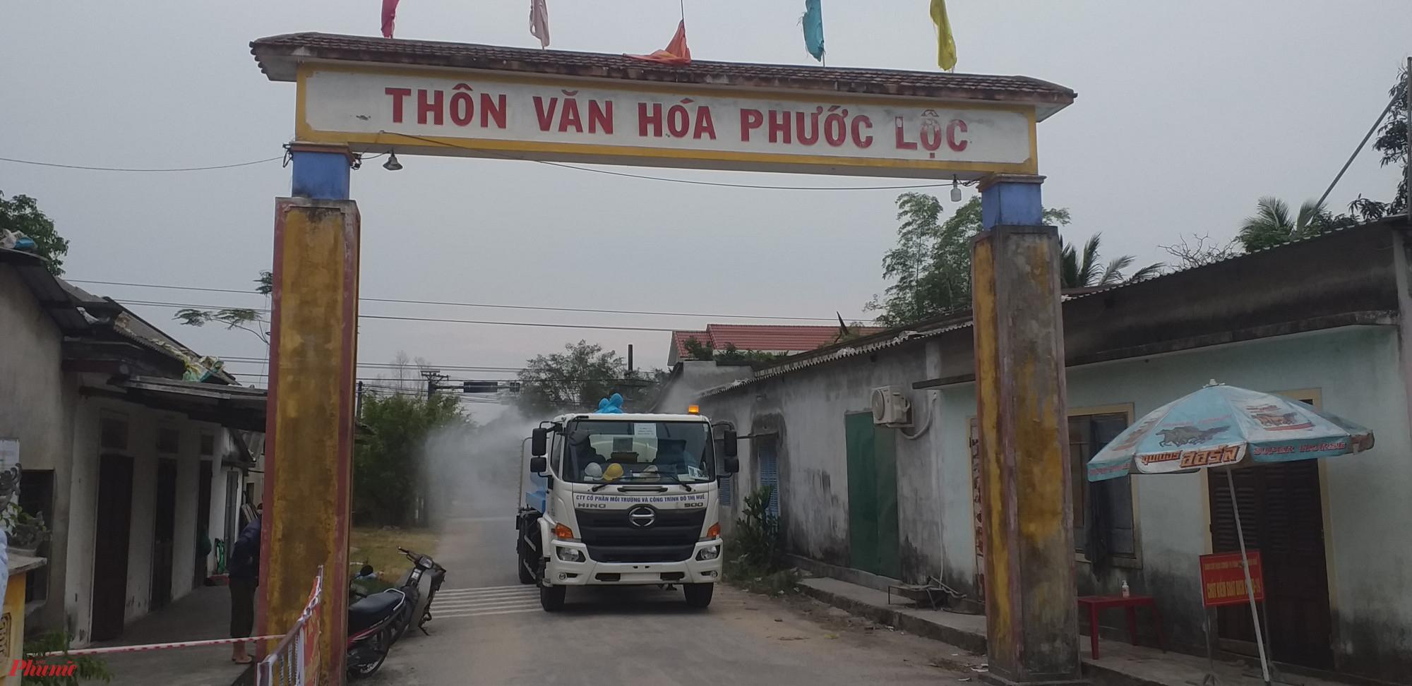 Trong lúc đó Phước Lộc, Phước An (xã Lộc Tiến) và Phú Hải (xã Lộc Vĩnh) vẫn còn thực hiện lệnh phong tỏa, cách ly y tế