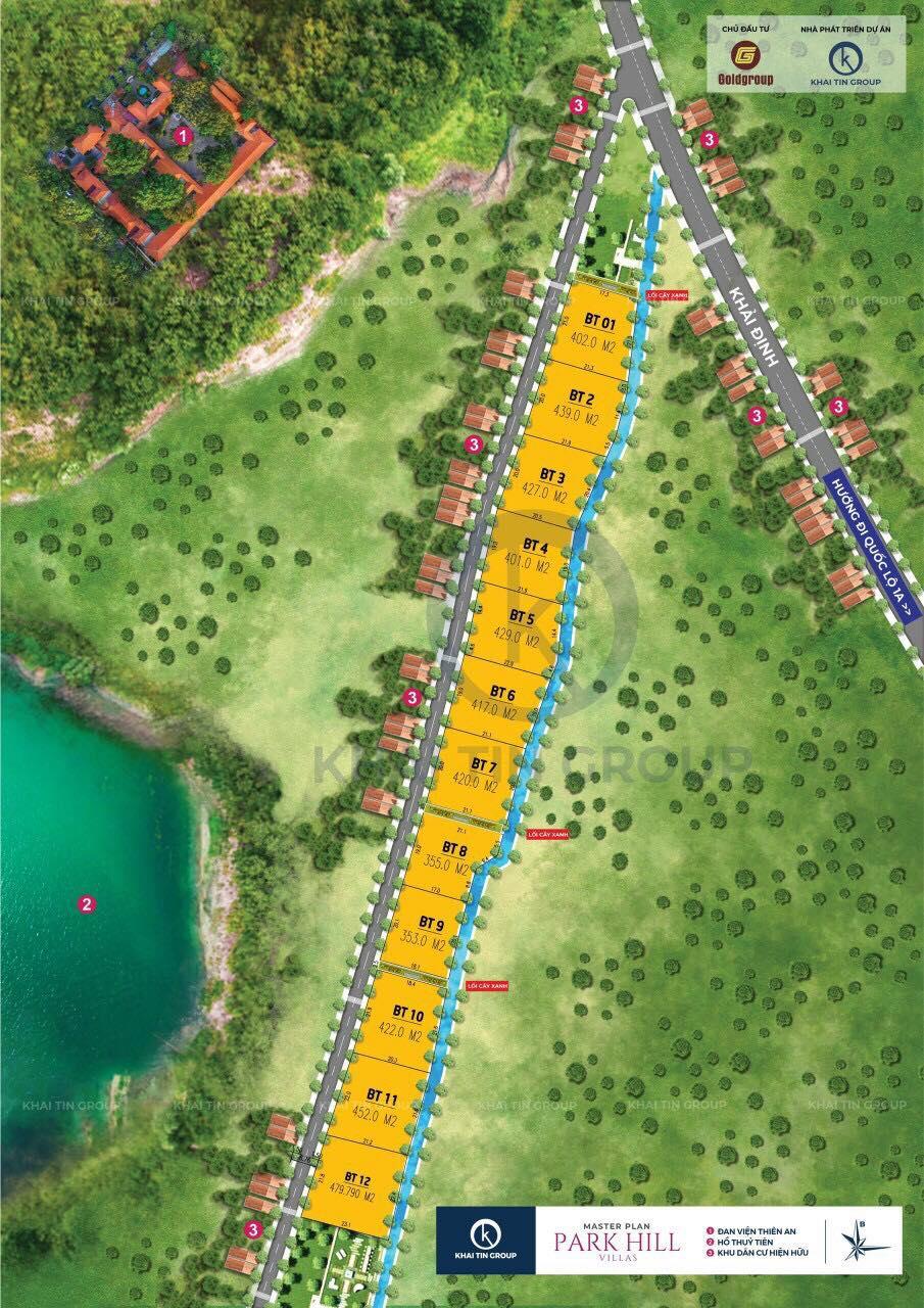 Đất quy hoạch nhà ở riêng lẻ được Khaitin Group thổi phòng biệt thự cao cấp để bán