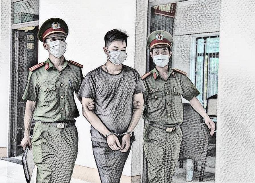 Ngô Văn Thắng bị bắt giữ - Ảnh: CACC