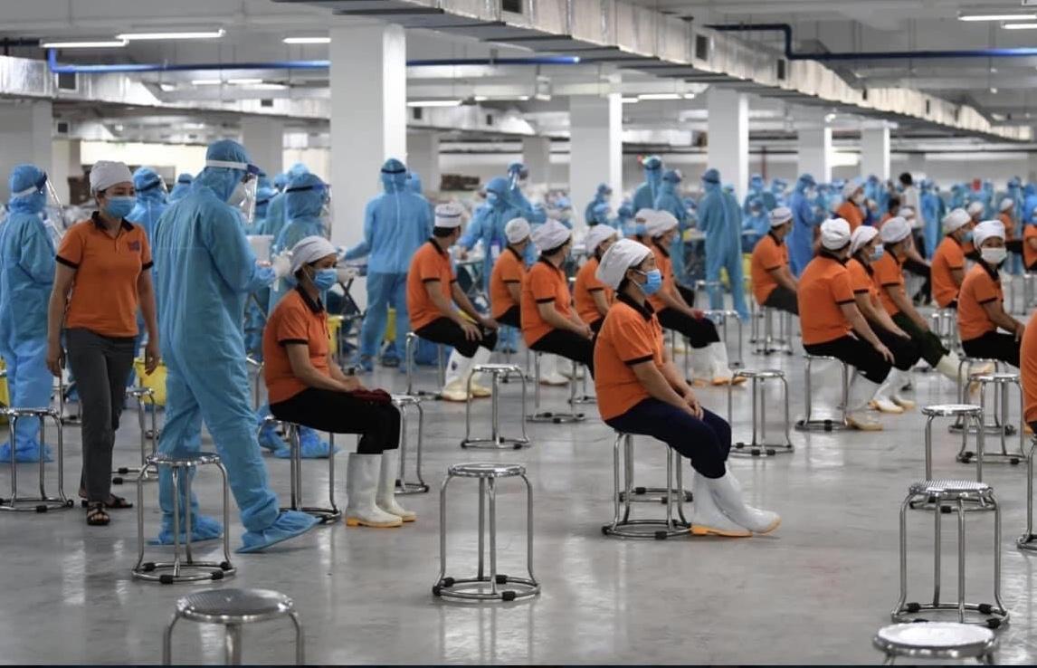 Tình hình dịch bệnh ở các khu công nghiệp của Bắc Giang đang rất phức tạp.