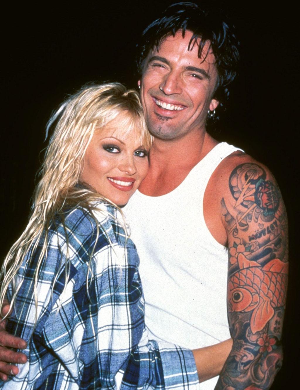 Cuộc hôn nhân sóng gió của Pamela Anderson và Tommy Lee bị bàn tán suốt nhiều năm.