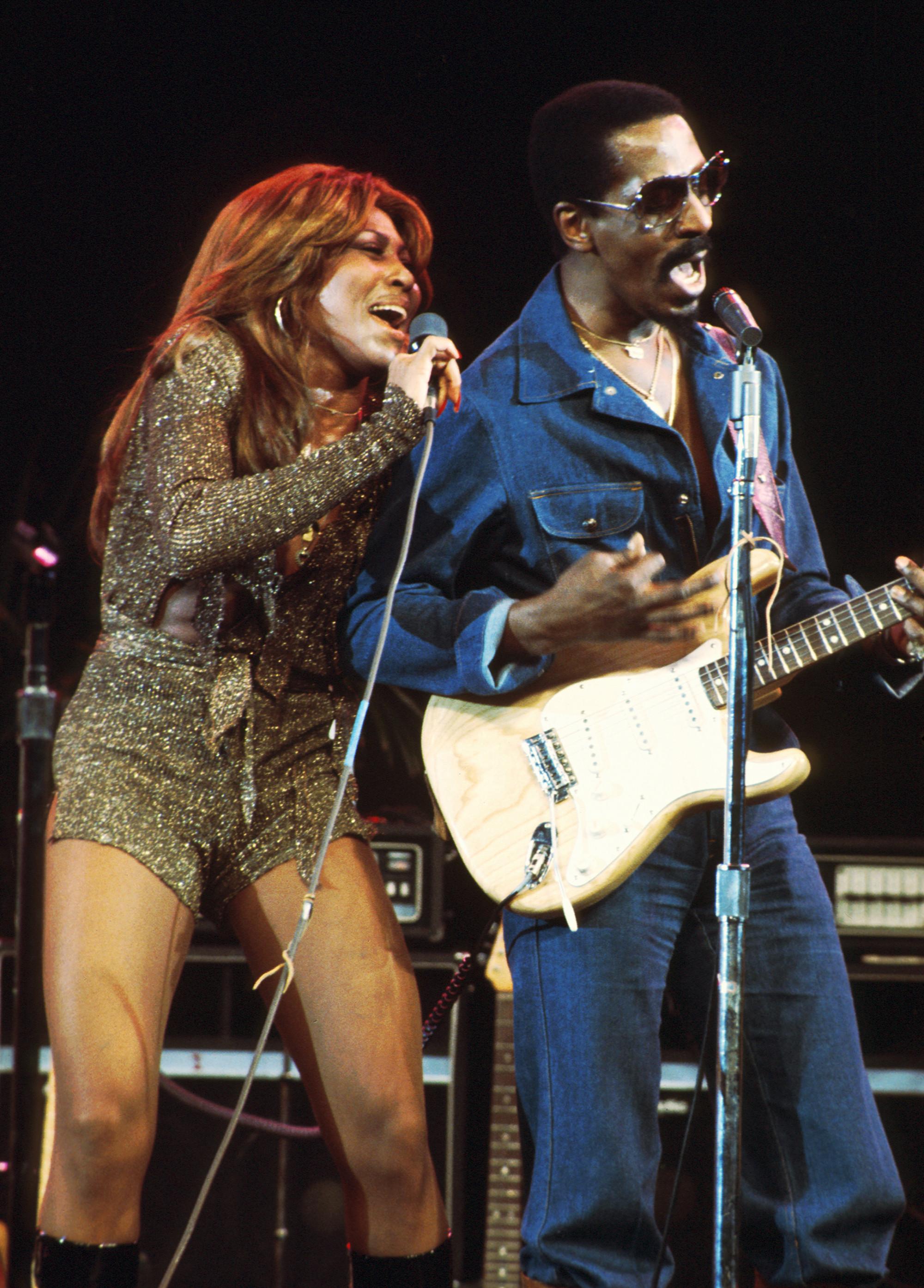 Tina Turner và chồng từng là cặp bài trùng