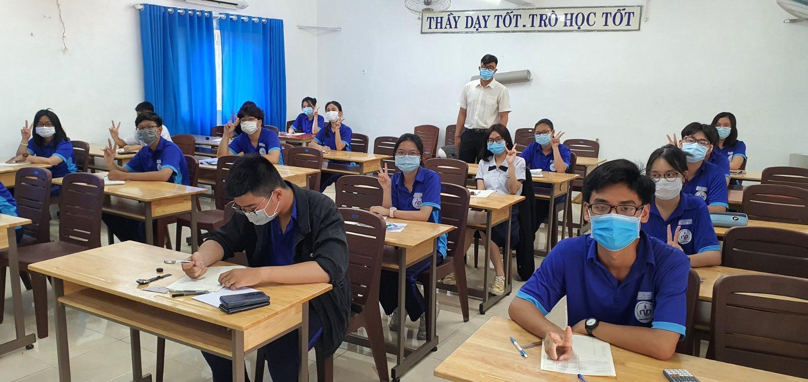 Trường THPT Nguyễn Du (quận 10) có rất nhiều hoạt động cho học sinh