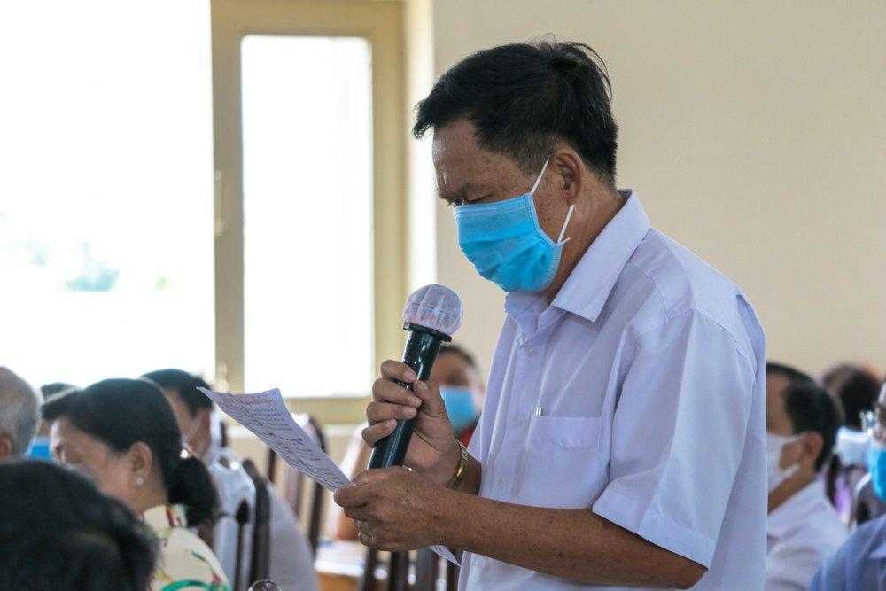 Tahm dự cuộc tiếp xúc, nhiều cử tri đánh giaa cáo chương trình hành động của các ứng cử viên