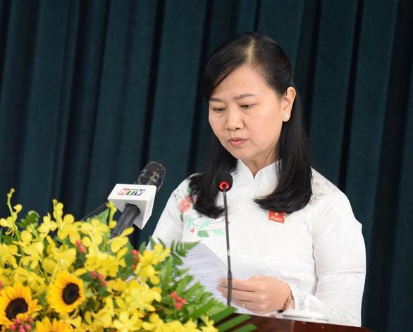 Bà Phạm Quỳnh Anh - Trưởng Ban pháp chế HĐND TPHCM