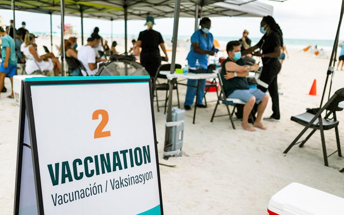 Tour đến Mỹ du lịch kết hợp tiêm vắc-xin COVID-19 đã xuất hiện ở khá nhiều nước, nhất là trong bối cảnh nước Mỹ đang thừa vắc-xin - Ảnh minh họa
