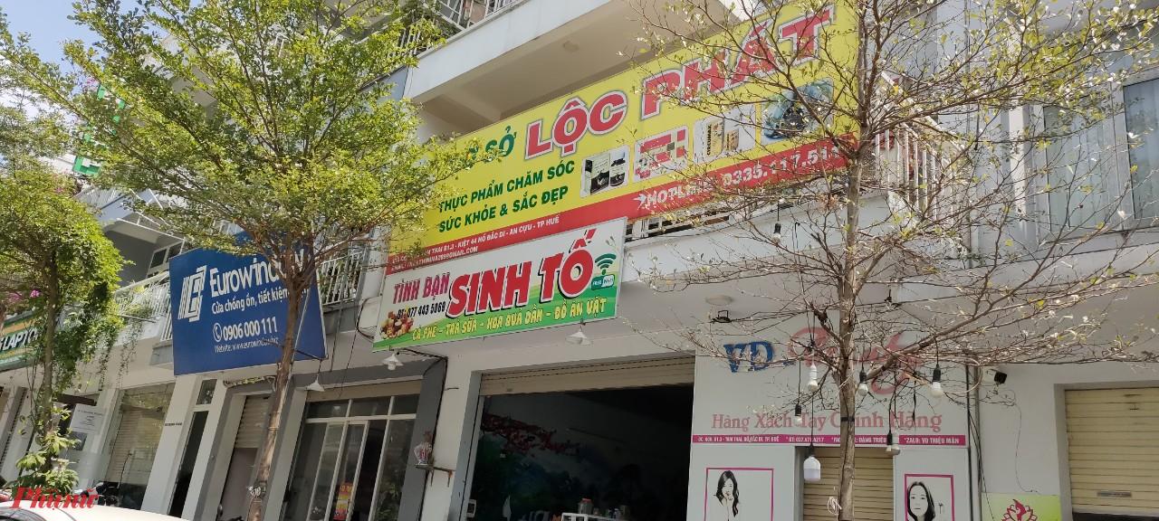 cơ sở kinh doanh Lộc Phát (ở địa chỉ Lô B1.3 khu Tam Thai, phường An Cựu, TP.Huế)