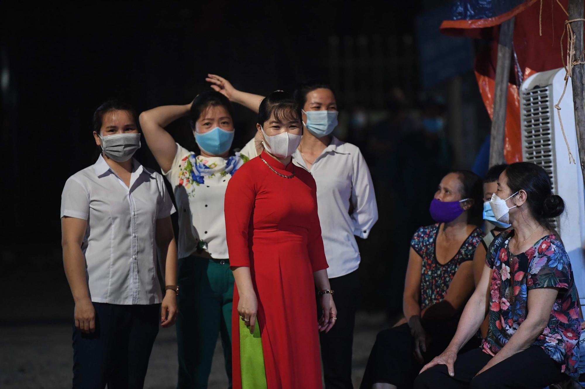 Đây là ổ dịch liên quan đến 2 bệnh nhân làm việc tại Khu Công nghiệp Thăng Long có kết quả dương tính với virus SARS-CoV-2.