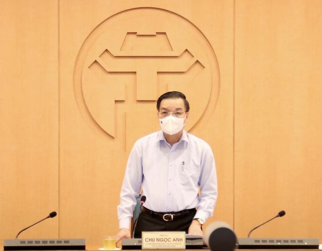 Chủ tịch Chu Ngọc Anh lưu ý đây là thời điểm cần tập trung công tác phòng chống dịch COVID-19.