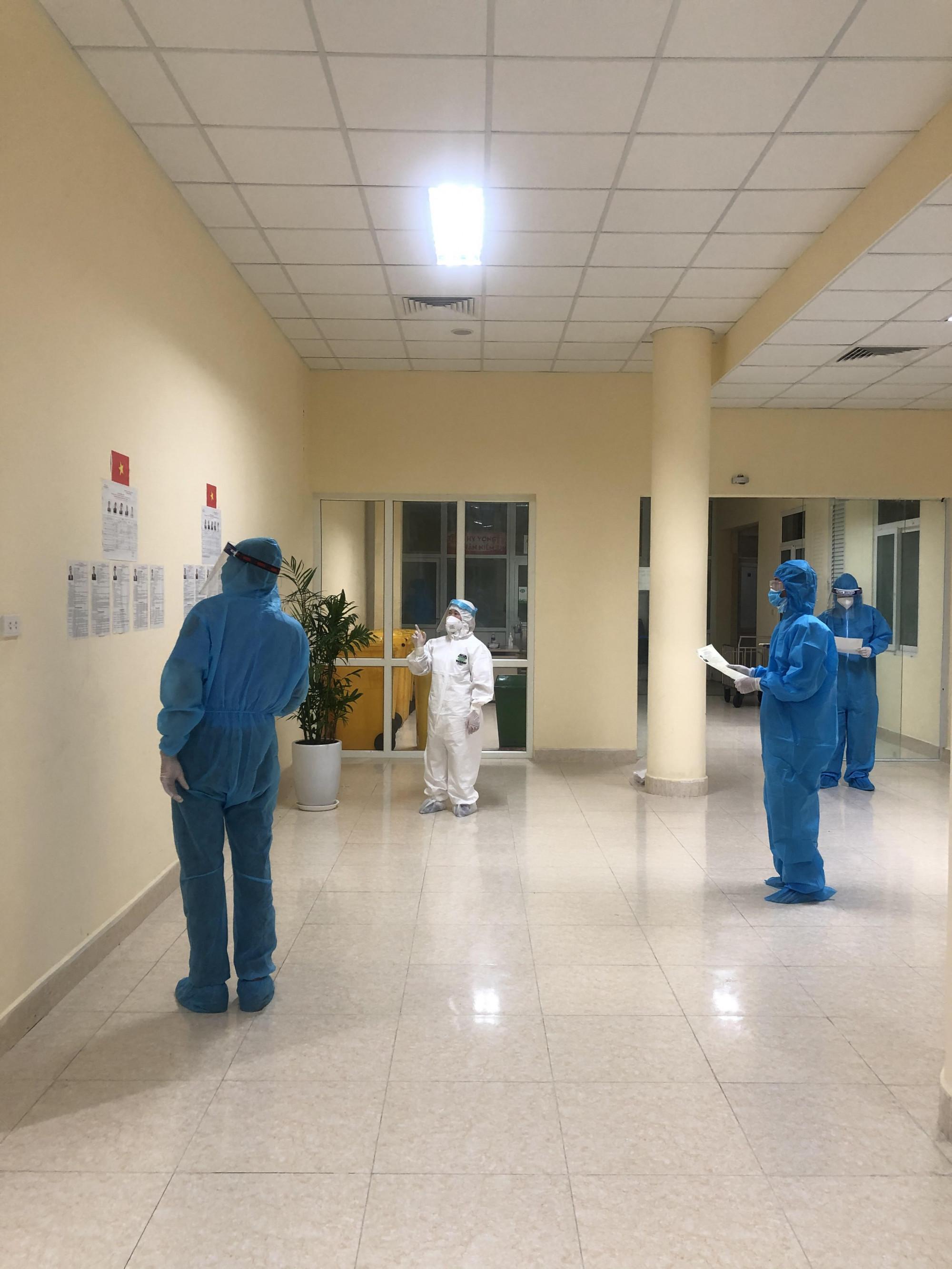 Công tác chuẩn bị bầu cử tại Bệnh viện K