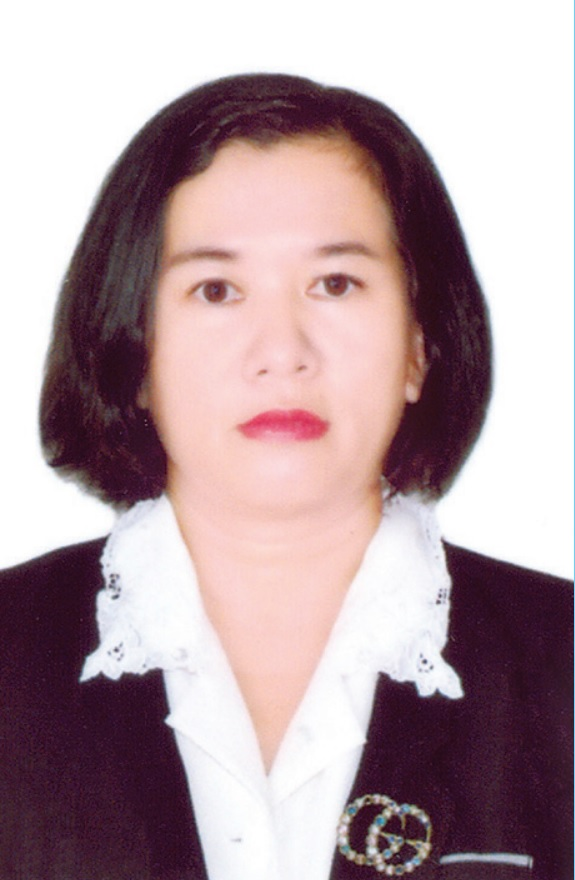 Bà NGUYỄN THỊ KIM ANH - Phó Chủ tịch Hội Chữ thập đỏ huyện Cần Giờ