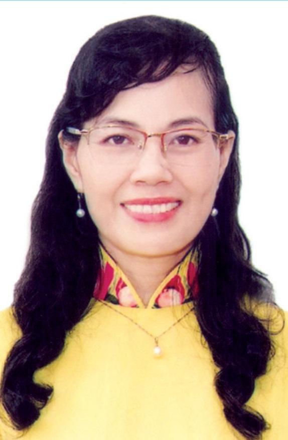 Bà NGUYỄN THỊ KIM DUNG - Phó Bí thư Thường trực Huyện ủy Bình Chánh