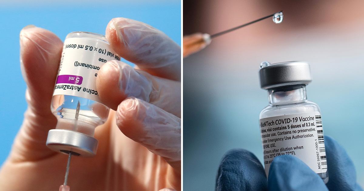 Hai loại vắc-xin COVID-19 của Pfizer và AstraZeneca được chứng minh là có hiệu quả như nhau