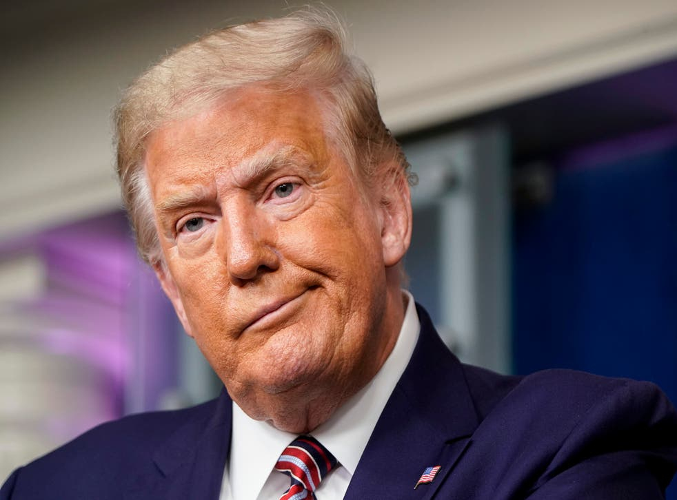 Ông Donald Trump có thể mất hàng triệu đô la nếu vụ kiện thành công - Ảnh: Independent/Getty Images