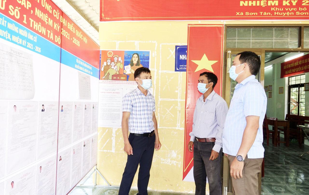 Nhiều địa phương miền núi tỉnh Quảng Ngãi đã hoàn thành công tác chuẩn bị bầu cử
