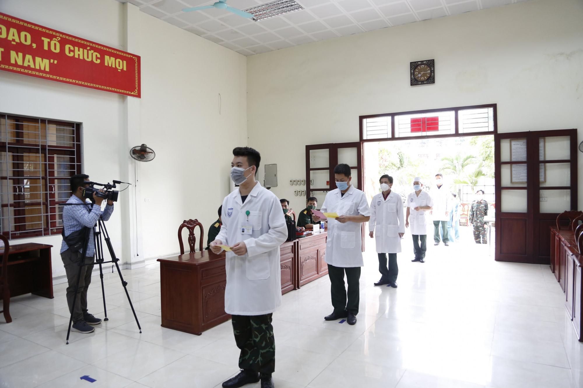 Cuộc bầu cử diễn ra trong bối cảnh Bắc Giang đang tập trung mọi nguồn lực để phòng, chống dịch