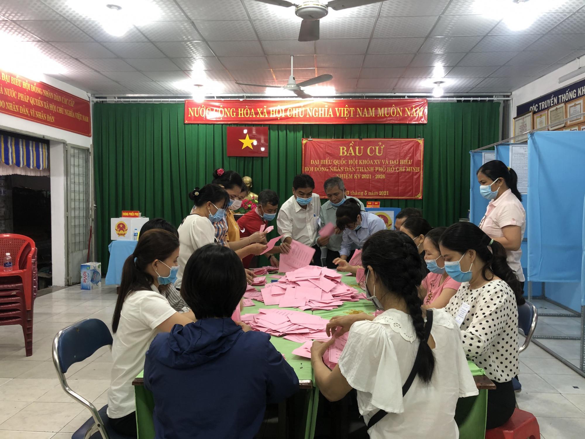 Tại phường Tây Thạnh, quận Tân Phú