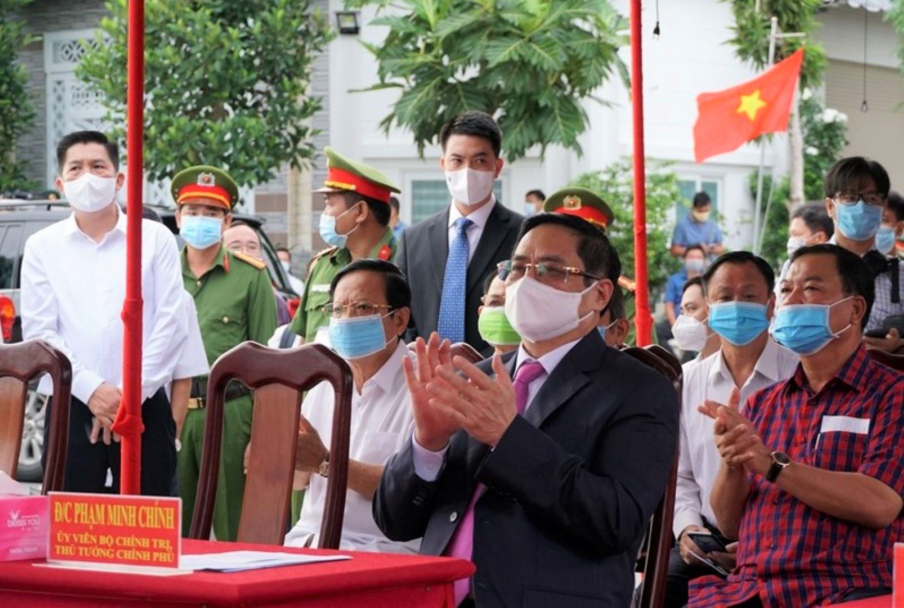 Thủ tướng Chính phủ tại buổi khai mạc bầu cử tại Cần Thơ