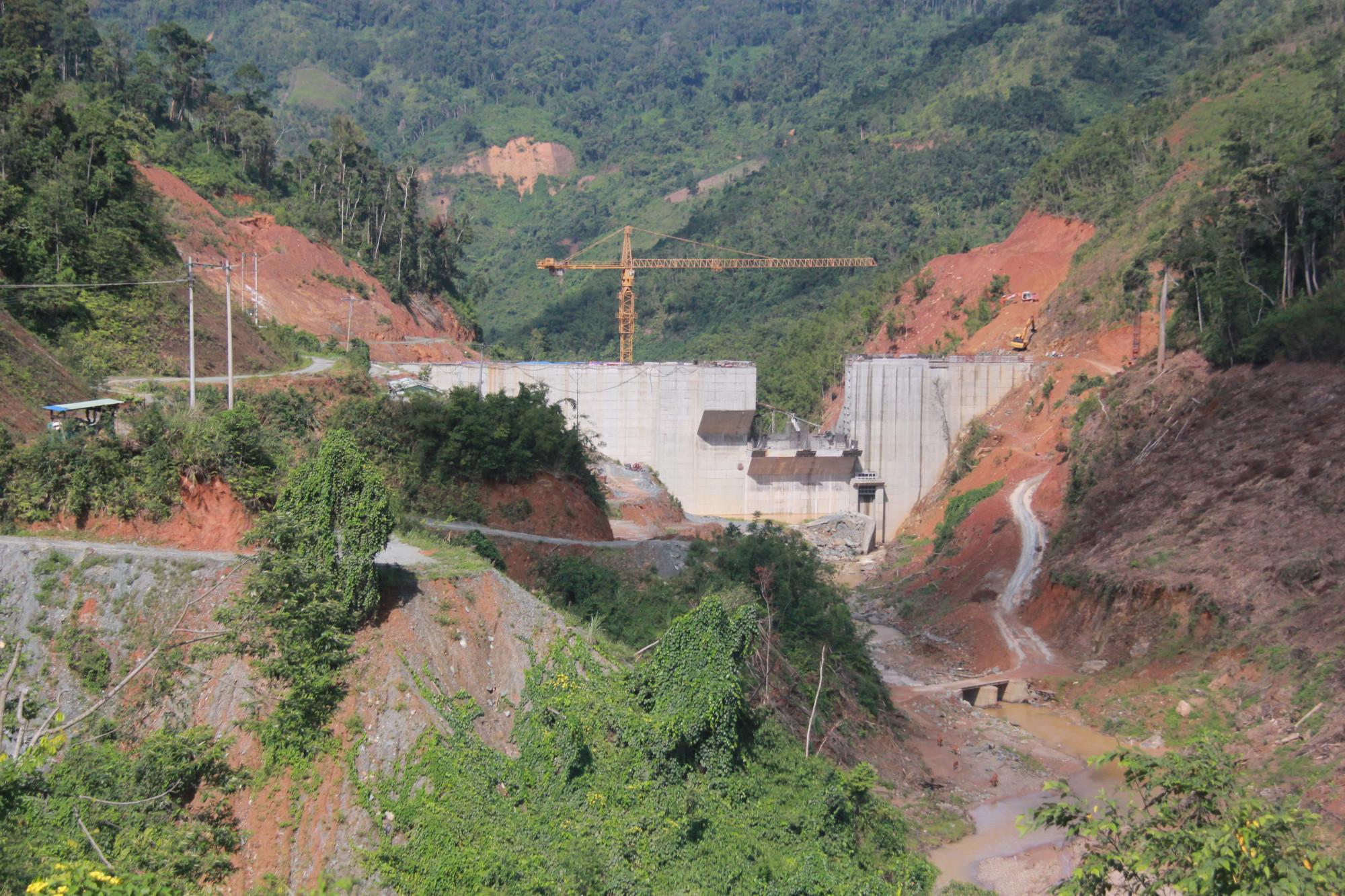 Được cấp phép xây dựng từ năm 2007 nhưng đến hiện tại thủy điện Tr'hy vẫn chưa thể hoàn thành