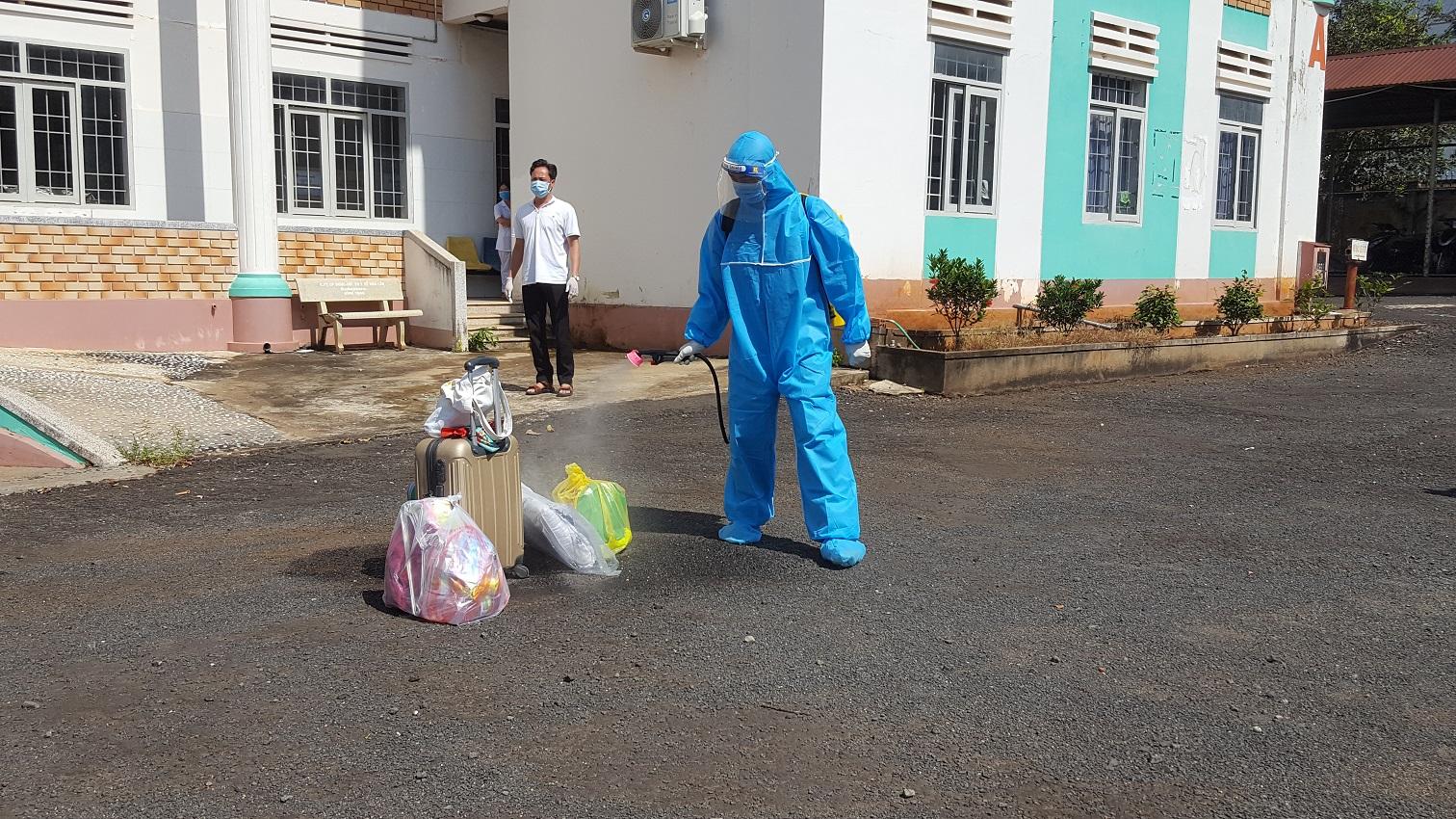 Công tác phòng chống dịch COVID-19 tại tỉnh Đắk Lắk đang được thực hiện nghiêm ngặt