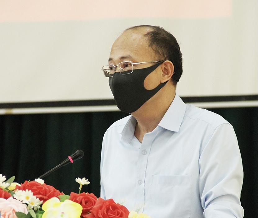 Giám đốc Sở GD&ĐT tỉnh Bắc Giang đang lên phương án đề xuất tổ chức thi TN THPT cho tỉnh.
