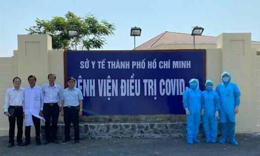 Bệnh viện điều trị COVID-19 đặt tại Trung tâm Y tế huyện Cần Giờ