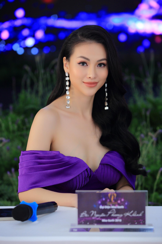 Miss Earth 2018 Nguyễn Phương Khánh là thành phần ban giám khảo Hoa hậu Trái đất Việt Nam 2021.
