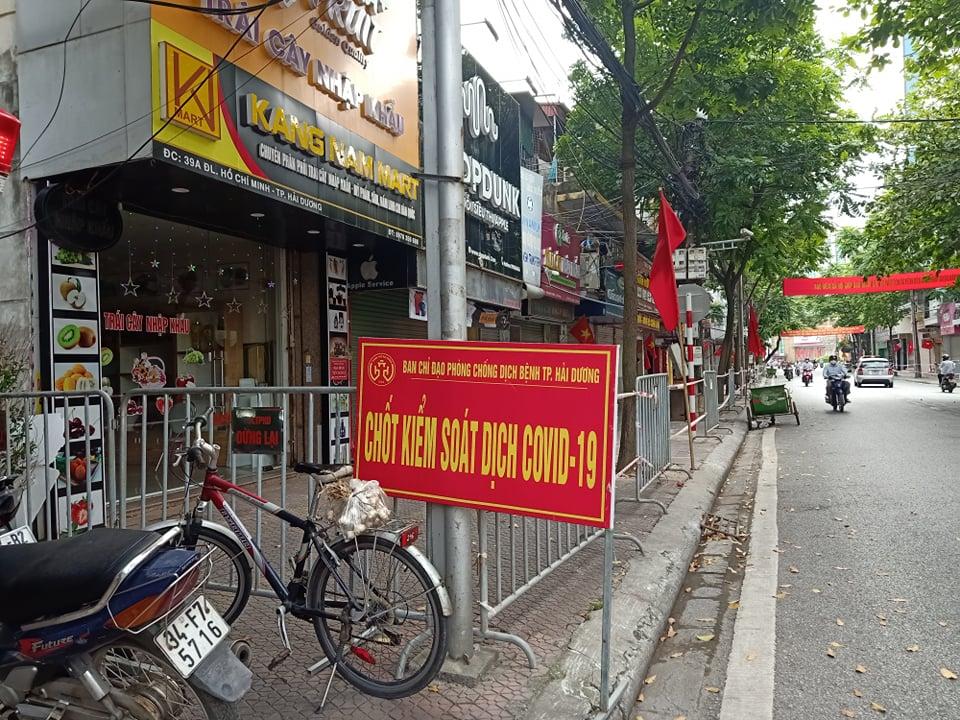 Thành phố Hải Dương vừa quyết định giãn cách 10 phường nội thành.
