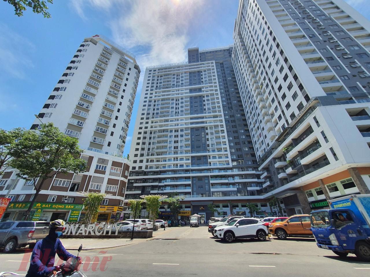 Dù chưa đủ điều kiện nhưng Nhà Đà Nẵng đã bán hàng trăm căn hộ tại chung cư Monarchy